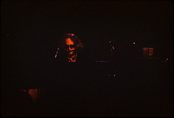 Keith Godchaux playing Keyboards with The Jerry Garcia Band at the Capitol Theater, Passaic  NJ 11-26-77. From an original Kodak Ektachrome Professional Tungsten Film Slide, EPT160.