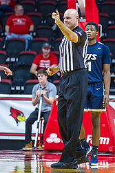 NORMAL, IL - November 29: Scott Tierney during a college basketball game between the ISU Redbirds and the Prairie Stars of University of Illinois Springfield (UIS) on November 29 2019 at Redbird Arena in Normal, IL. (Photo by Alan Look)
