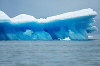 Iceberg floating on water