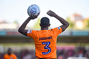 Oldham Athletic defender Wilfried Moimbe (3) during the EFL Sky Bet League 1 match between Northampton Town and Oldham Athletic at Sixfields Stadium, Northampton, England on 5 May 2018. Picture by Dennis Goodwin.