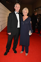 JULIE WALTERS and GRANT ROFFEY at the IWC Schaffhausen Gala Dinner in honour of the British Film Institute held at the Battersea Evolution, Battersea Park, London on 7th October 2014.