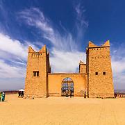 Ancient fortress named Kasbah Ras el-Ain, in Asserdoun, province of Beni Mellal, Morocco.