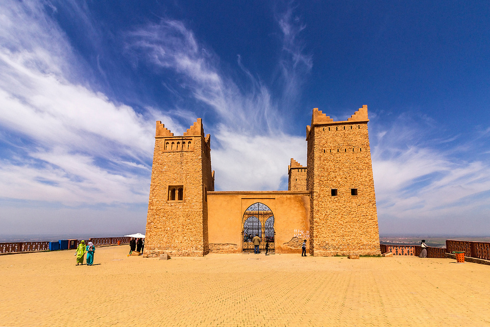 Ancient fortress named Kasbah Ras el-Ain, in Asserdoun, province of Beni Mellal, Morocco.