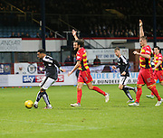 Dundee&rsquo;s Kane Hemmings scores his side's late equaliser - Dundee v Partick Thistle, Ladbrokes Premiership at Dens Park<br /> <br />  - &copy; David Young - www.davidyoungphoto.co.uk - email: davidyoungphoto@gmail.com