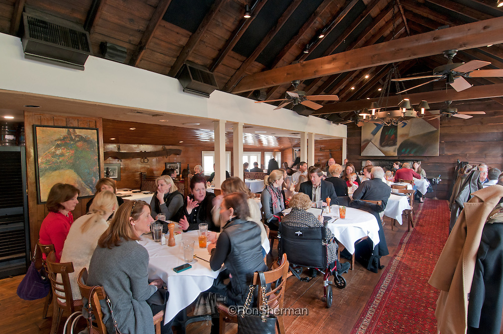 The Horseradish Grill has a neighborhood feel and ambiance, charming building and grounds, and the food is great! Southern homestyle cooking with an upscale twist, homegrown herbs and homemade desserts. Great for clients or a cozy dinner for two.