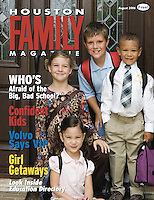 Houston Family August 2006 Cover
