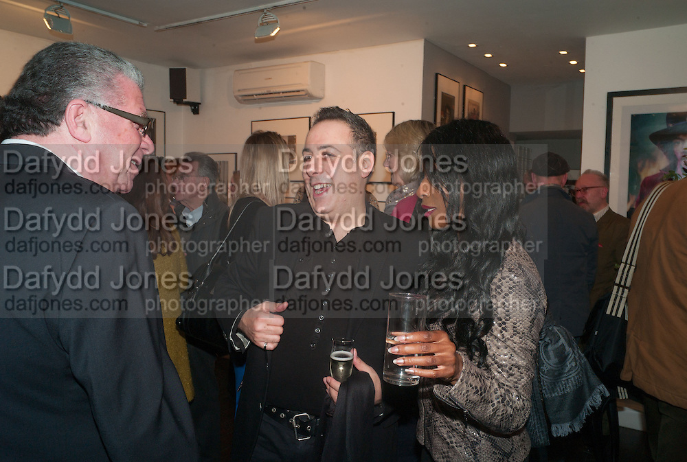 MARSHALL DOCTORS; NICOLAS GEORGIOU; SINITTA, Ossie Clark: The King of The King's Road Reigns Again . Mixed exhibition of photographs of Ossie Clark inc pictures by Terry O Neill, Homer Sykes and Neil Libbert, Proud Chelsea, King's Rd. London. 20 February 2013.