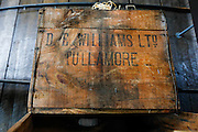 A Whiskey box is seen at the Tullamore Dew Experience in Tullamore, County Offaly, Ireland on Monday, June 24th 2013. (Photo by Brian Garfinkel)