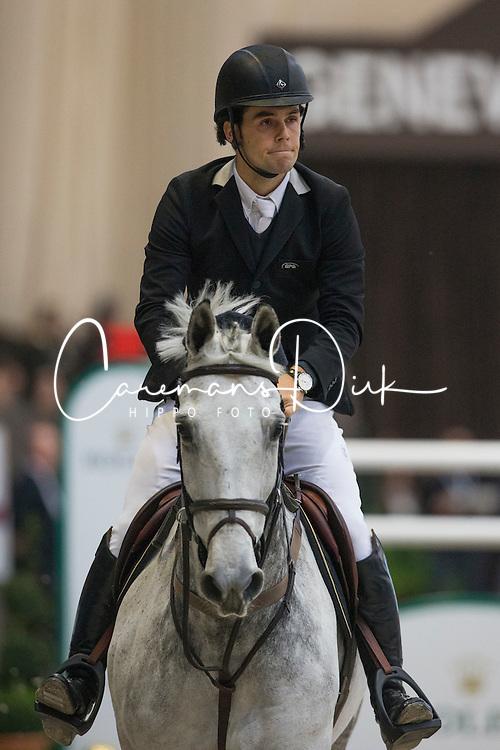 Alvarez Moya Sergio (ESP) - Carlo<br /> Rolex FEI World Cup qualifier<br /> CSI-W Geneve 2012<br /> &copy; Dirk Caremans
