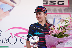 Third place finish for Alexis Ryan (USA) at Giro Rosa 2018 - Stage 3, a 132 km road race starting and finishing in Corbetta, Italy on July 8, 2018. Photo by Sean Robinson/velofocus.com