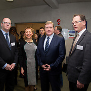 20.01.17<br /> Minister of State for Employment and Small Business, Deputy Pat Breen addressed a seminar for SMEs on The Role of Education in Supporting Small Business at University of Limerick.<br /> <br /> Pictured at the event were, Dr. Mark Southern, UL, Dr. Briga Hynes, UL,Minister of State for Employment and Small Business, Deputy Pat Breen and Prof. Edmond Magner, Dean of Science and Engineering UL.<br /> <br />  Jointly hosted by the Kemmy Business school and the faculty of Science and Engineering, the event brought together small and medium enterprises along with representative bodies, Local Enterprise Offices, Chambers of Commerce, Irish Small and Medium Enterprises association (ISME), Enterprise Ireland and the IDA. The aim of the event was to stimulate greater collaboration between third level institutes and SMEs in relation to research, education and business advice. To date, University of Limerick and Limerick Institute of Technology have supported a number of start-ups through the Nexus Innovation Centre and LIT's Enterprise Centres while academic staff have provided expert advice to local companies. Picture: Alan Place