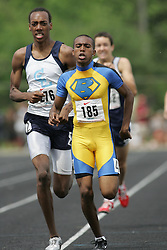 Hamilton, Ontario ---07/06/08--- Merid Seleshi of Birchmount Park in Scarborough competes in the 800 meters at the 2008 OFSAA Track and Field meet in Hamilton, Ontario..Sean Burges