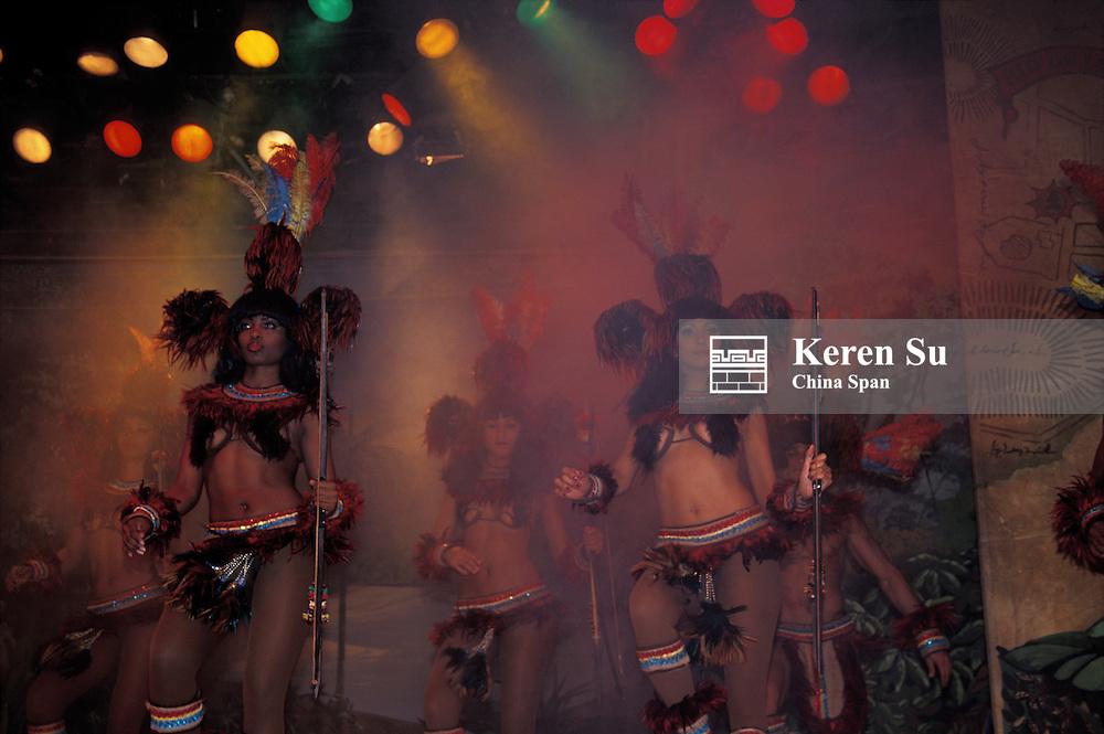 Samba dancers, Rio de Janeiro, Brazil