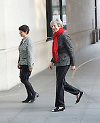 Andrew Marr Show arrivals at Broadcasting House, BBC TV, London, Great Britain <br /> 22nd January 2017 <br /> <br /> <br /> Theresa May MP <br /> Prime Minister <br /> <br /> <br /> <br /> Photograph by Elliott Franks <br /> Image licensed to Elliott Franks Photography Services