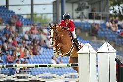 Diniz, Luciana (POR), Fit for Fun<br /> Aachen - Europameisterschaften 2015<br /> Internationales Springen<br /> © www.sportfotos-lafrentz.de/Stefan Lafrentz