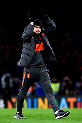 Chelsea manager Frank Lampard after the final whistle of the match  - Mandatory by-line: Ryan Hiscott/JMP - 10/12/2019 - FOOTBALL - Stamford Bridge - London, England - Chelsea v Lille - UEFA Champions League group stage
