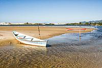 Boats in Madre River, at Guarda do Embaú Beach. Palhoça, Santa Catarina, Brazil. / <br /> Barcos no Rio da Madre, na Guarda do Embaú. Palhoça, Santa Catarina, Brasil.