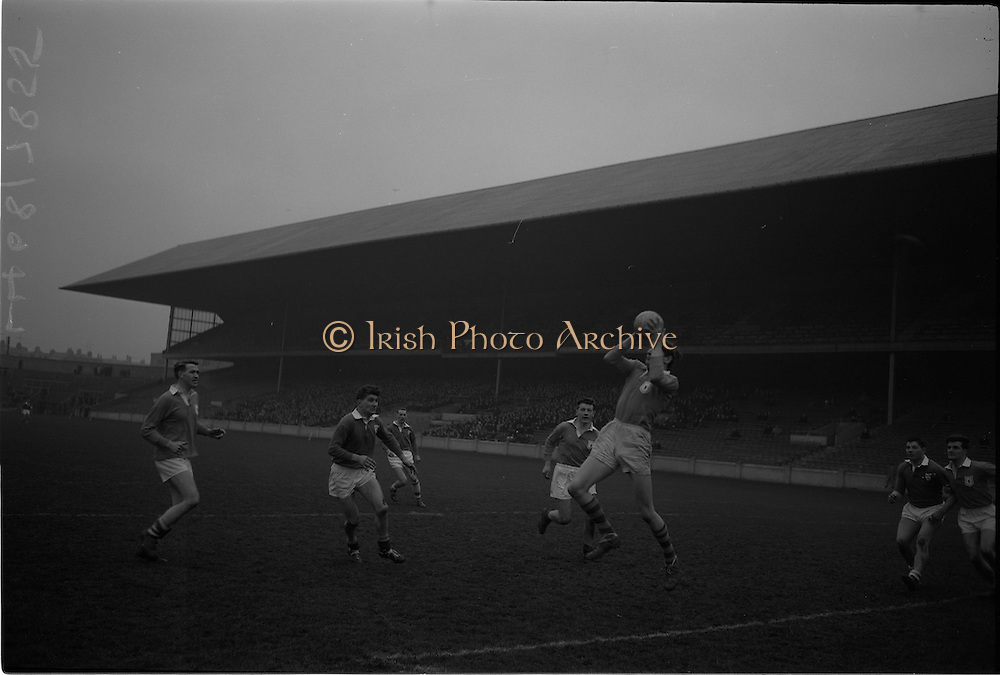 21/02/1965.02/21/1965.21 February 1965.Munster v Ulster Railway Cup semi-final at Croke Park. The final score was Ulster 0-14 Munster 0-9..