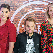 NLD/Hilversum/20180917 - Jury The Talent Project,  Caro Emerald, Roel van Velzen en Chantal Janzen