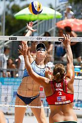 20140607 ITA: EK Beachvolleybal, Cagliari<br /> Madelein Meppelink<br /> ©2014-FotoHoogendoorn.nl / Pim Waslander