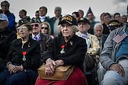 WWII veteran, Dorothy Levitsky-Sinner 97 y/o, volunteered w/sister, US Army Nursing Corps, in Picauville (L) her sister Ellan Levitsky Orkin 95 y/o, volunteered w/sister, US Army Nursing Corps