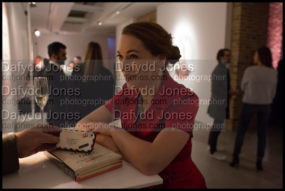 MARY LANE, Julia Peyton-Jones, Hans Ulrich Obrist and Coach host the Serpentine Future Contemporaries Party. Serpentine Sackler Gallery. Kensington Gdns. London. 21 February 2015