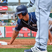 Padres  vs Reds, Goodyear Ballpark, March 24, 2018  Goodyear Arizona, Andres Acosta / El Paso Herald-Post