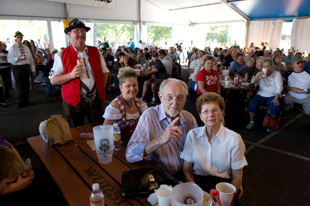 Photograph from the 2012 Wurstfest in New Braunfels, Texas, as created for Polkabeat.com.