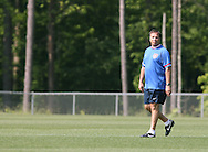 Bruce Arena, head coach, on Wednesday, May 17th, 2006 at SAS Soccer Park in Cary, North Carolina. The United States Men's National Soccer Team held a training session as part of their preparations for the upcoming 2006 FIFA World Cup Finals being held in Germany.