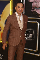 May 2, 2019 - New York City, New York, U.S. - Actor KEN WATANABE attends the US premiere of Pokemon Detective Pikachu held at Military Island Times Square. (Credit Image: © Nancy Kaszerman/ZUMA Wire)