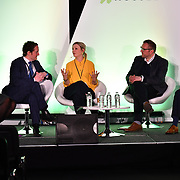 Spearkers Amina Ali, Thomas Kearney, Dr Davina Deniszczyc, James Sanderson, and Helen Gilburt of Prevention not cure - what is the role of personalised care?  at Elevate 2019 on 8 May 2019, at Excel London, UK.
