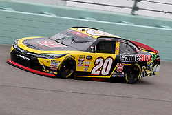 November 16, 2018 - Homestead, FL, U.S. - HOMESTEAD, FL - NOVEMBER 16: Christopher Bell, driver of the #20 GameStop Transformers Toyota, during practice for the NASCAR Xfinity Series playoff race, the Ford EcoBoost 300 on November, 16, 2018, at Homestead - Miami Speedway in Homestead, FL. (Photo by Malcolm Hope/Icon Sportswire) (Credit Image: © Malcolm Hope/Icon SMI via ZUMA Press)