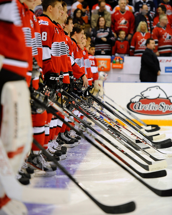 The Subway Super Series in Oshawa on Thurs. Nov. 21, 2013. Photo by Aaron Bell/OHL Images