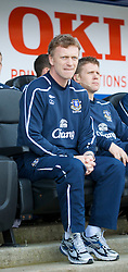 PORTSMOUTH, ENGLAND - Saturday, March 21, 2009: Everton's manager David Moyes before the Premiership match against Portsmouth at Fratton Park. (Photo by David Rawcliffe/Propaganda)