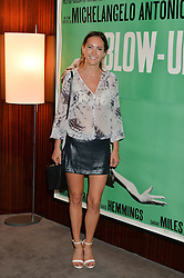 The UK Premier of Johnnie Walker Blue Label's 'Gentleman's Wager' - a short film starring Jude Law was held at The Bulgari Hotel & Residences, 171 Knightsbridge, London on 22nd July 2014.<br /> Picture Shows:-LAVINIA BRENNAN.