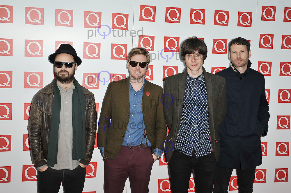 Kaiser Chiefs..Q Awards at the Grosvenor House Hotel, London, UK. 24 October 2011. Contact rich@piqtured.com +44(0)7941 079620(Picture by Awais Butt)