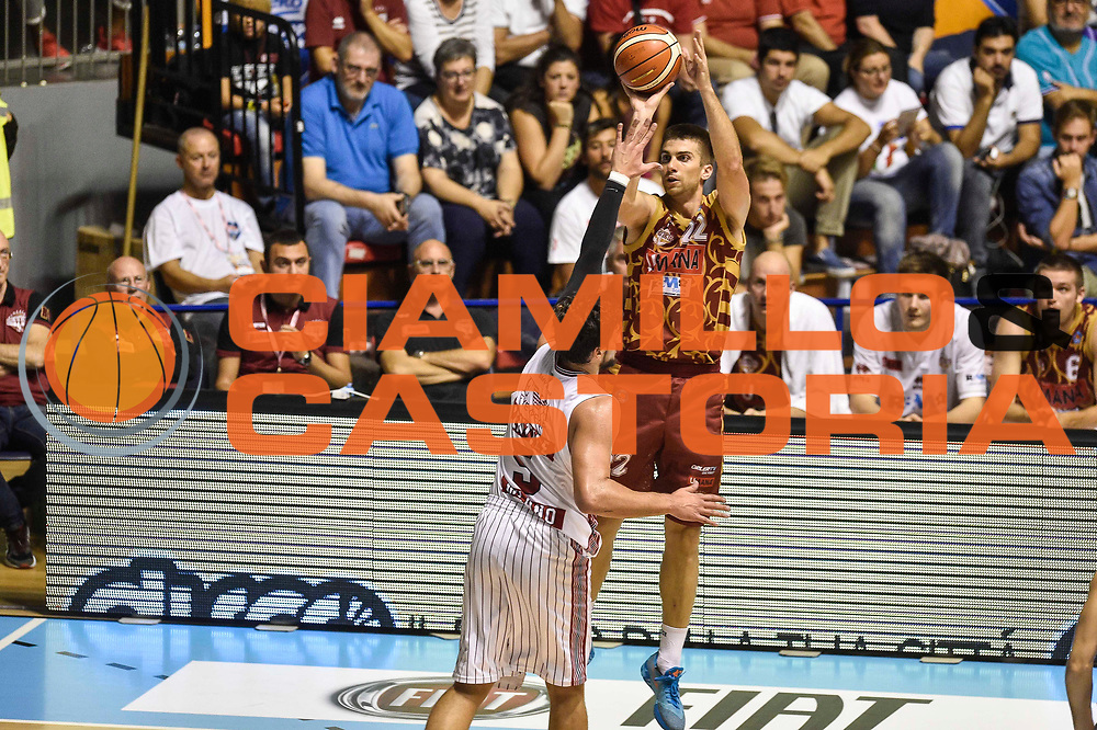 DESCRIZIONE : Supercoppa 2015 Semifinale Olimpia EA7 Emporio Armani Milano - Umana Reyer Venezia<br /> GIOCATORE : Jeff Viggiano<br /> CATEGORIA : Tiro Tre Punti Three Point Ritardo<br /> SQUADRA : Umana Reyer Venezia<br /> EVENTO : Supercoppa 2015<br /> GARA : Olimpia EA7 Emporio Armani Milano - Umana Reyer Venezia<br /> DATA : 26/09/2015<br /> SPORT : Pallacanestro <br /> AUTORE : Agenzia Ciamillo-Castoria/GiulioCiamillo