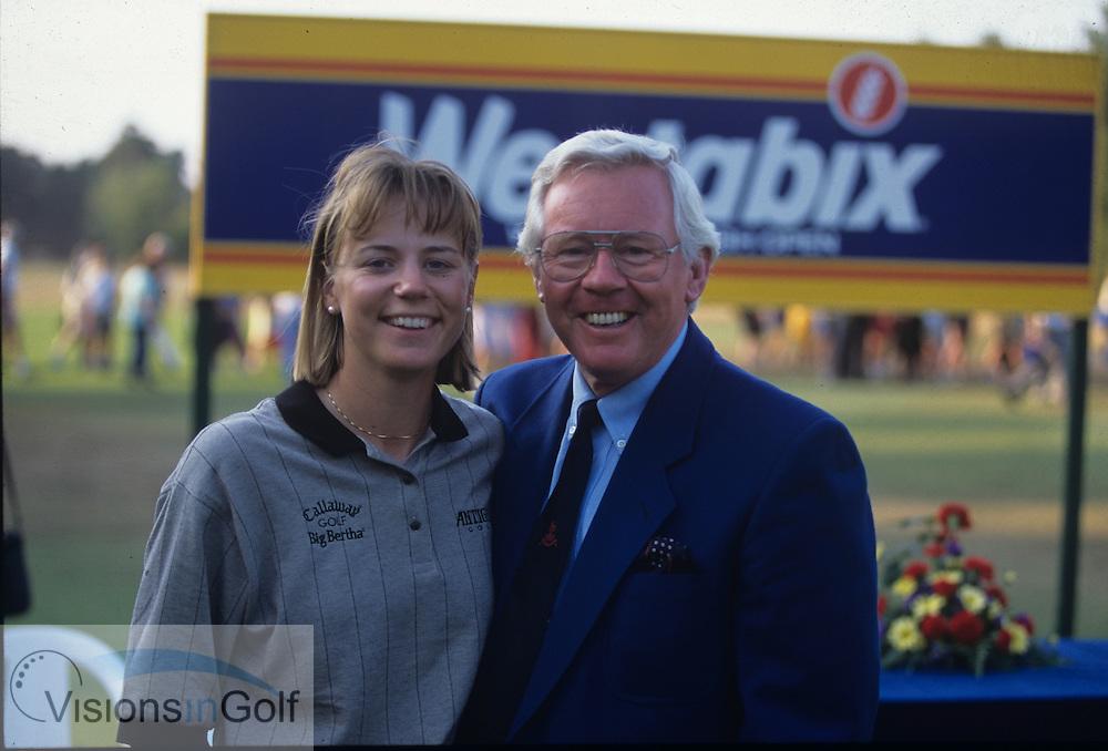 Annika Sorenstam <br /> on the European Tour 1995
