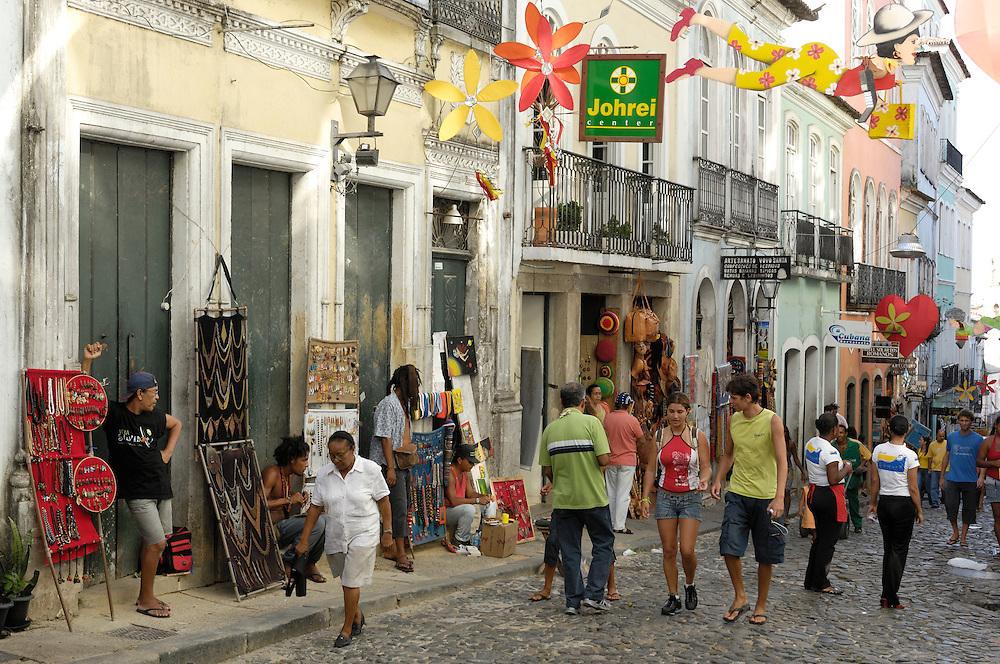 Pelourinho, upper city,centro historico, Salvador, Bahia, Brazil