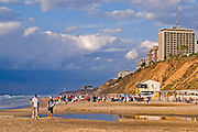 Israel, Natanya, the beach front