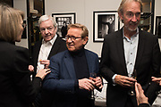 JOHN SWANNELL, MIKE RUTHERFORD , John Swannell, The Caprice, London. , 5 February 2019