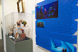 Exhibit in the Scandinavian Center based on the Scandinavian inspiration for the movie Frozen PLU on Monday, Jan. 12, 2015. (Photo/John Froschauer)