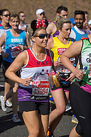 Runners at the Red Start at The Virgin Money London Marathon 2014 on Sunday 13 April 2014<br /> Photo: Neil Turner/Virgin Money London Marathon<br /> media@london-marathon.co.uk