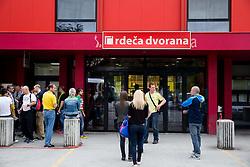 Red arena in Velenje on May 23, 2014 in Velenje, Slovenia. Photo By Vid Ponikvar / Sportida