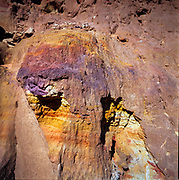 A collection of bespoke surreal scenes from the Dead Sea area in Israel.  These images, shot on highly saturated professional slide film, showcase the vibrant colors from the hot, thick and oily saltwater, the scorched earth and salt formations along the shore.
