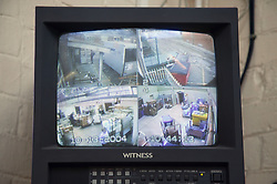 Monitoring of the Hospital Logistic Operations Departments on CCTV screen,