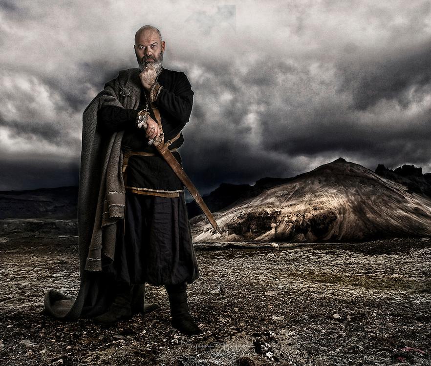 Egill, poet and warrior.