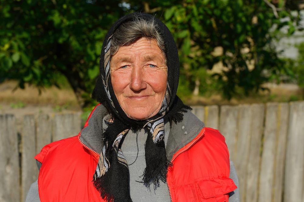 Lady in Letea, Danube delta rewilding area, Romania