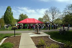 10 May 2014:   25th anniversary celebration of the Constitution Trail ceremony at Connie Link Amphitheater in Normal Illinois