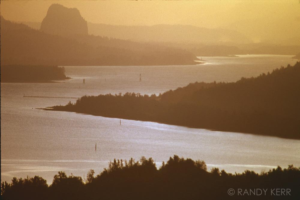 Columbia River sunrise